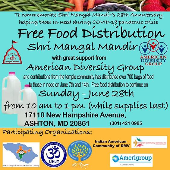 Free Food Distribution