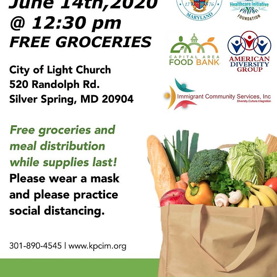 Food Pantry (Free Groceries and Food Meal Distribution)