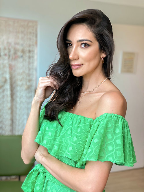 Vestido Nice Verde