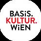 Basis-Kultur-Wien_Logo_White-Circle_CMYK