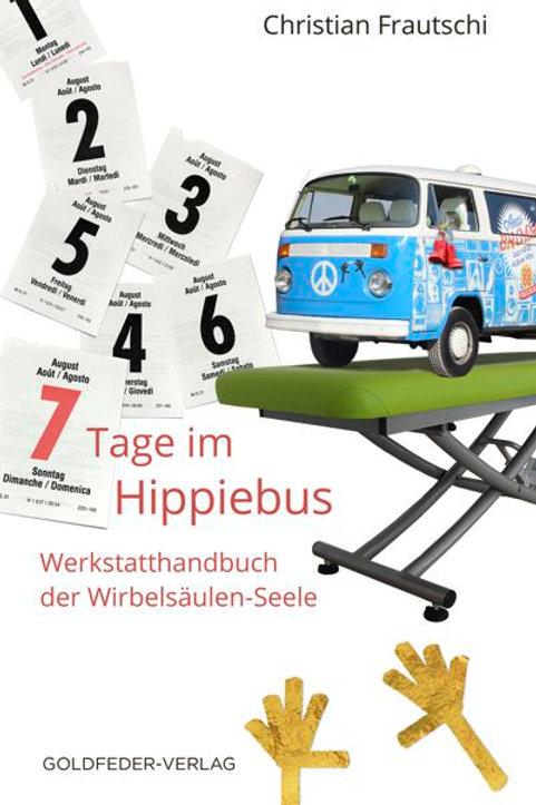 """Buch mit Hörbuch """"7 Tage im Hippie-Bus"""", Christian Frautschi"""