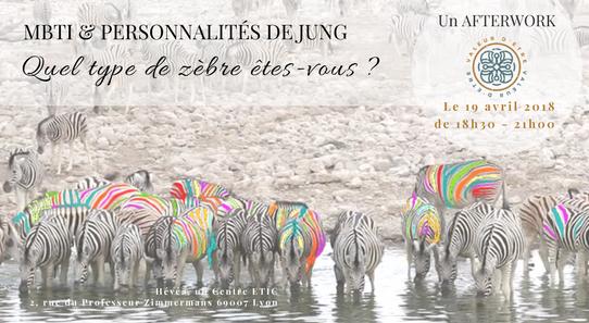 Quel type de zèbre êtes-vous ? | MBTI & Personnalités de Jung | 19 avril à Lyon