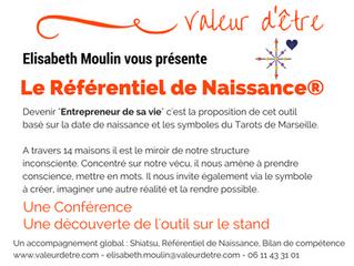 """Conférence  """"Référentiel de Naissance® Être soi""""  - 14 mai 15h15 Villefranche s/saône"""