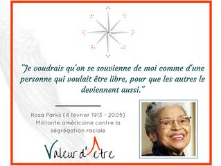 Rosa Parks | Liberté