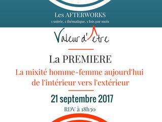 Les afterworks| La mixité aujourd'hui, de l'intérieur vers l'extérieur | le 21 septembre
