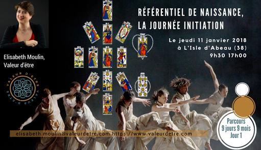 Conférence Référentiel de Naissance et Parcours 9 Jours, 9 Mois, 26 janvier, Elisabeth Moulin, Valeur d'être