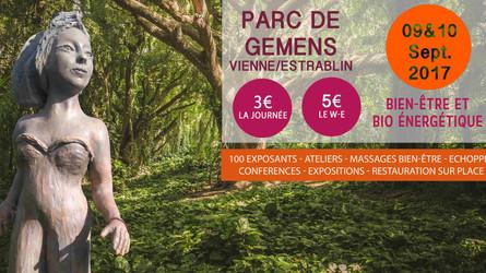 Deux jours, une conférence, un Atelier | 9 et 10 septembre | Salon LesSensCiel | Parc de Gémens