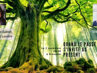 Quand le passé s'invite au présent | Atelier le 3 novembre 19h30 | Grenoble