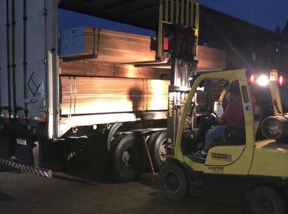 PGWood Stacked Hardwood Truck Loading 4.