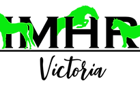 IMHR VIC Logo Black Text Green Horses .p