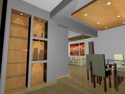 render 3D soggiorno