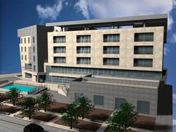 render 3D albergo