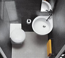 microbagno, bagno piccolo, bagno stretto, sanitari salvapazio, sanitari piccoli