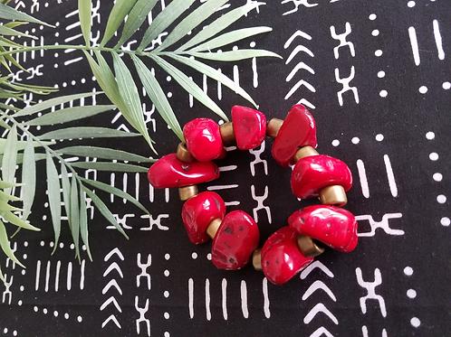 Aruba Red Bracelet - Medium