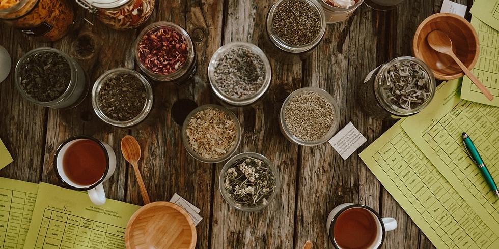 Bazsalikomos kert ~ Adventi Tea Workshop  / Advent Tea Workshop