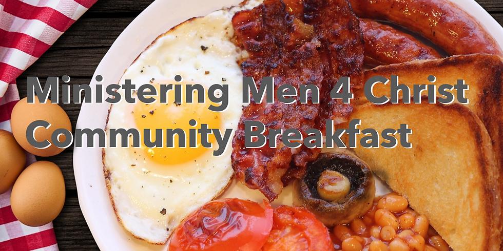 September 2021 Community Men's Breakfast