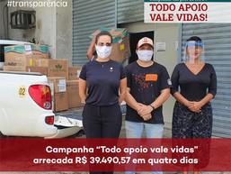 """Campanha em Prol do HUGV - """"Todo Apoio Salva Vidas!"""""""