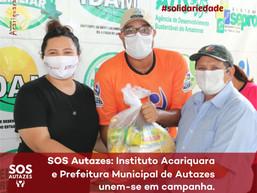 Instituto Acariquara lança a campanha SOS Autazes