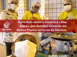 AGROUFAM em CASA apoia iniciativa de solidariedade