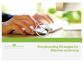 Storyboarding Strategies for Effective e-Learning