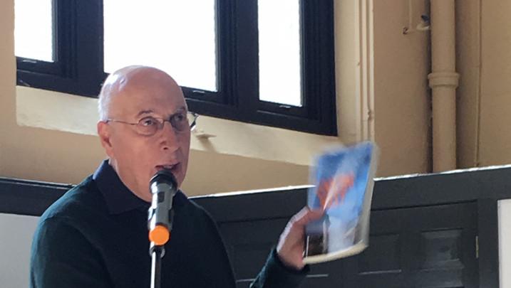 First Book Talk at St. Patrick Church