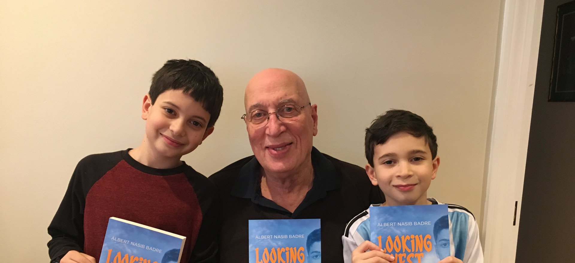 Announcing Book Release with Shawn and james