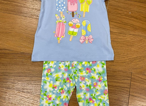 3020/3732 Ice Lolly Top & Leggings Set