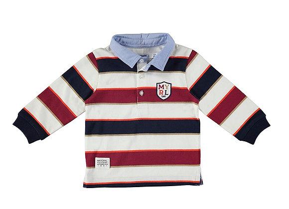 Mayoral Stripe Poloshirt