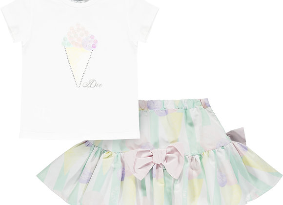 A.Dee Ice Cream Skirt Set