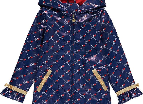 A.Dee 'A' Print Raincoat