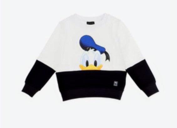 Monnalisa Boys Donald Duck Sweater
