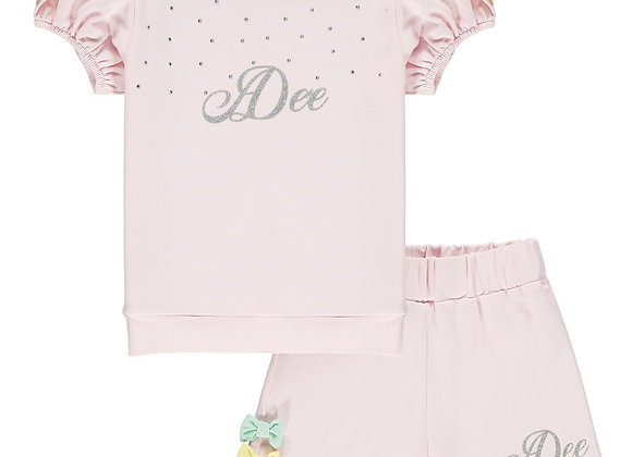 A.Dee Pink Short Set