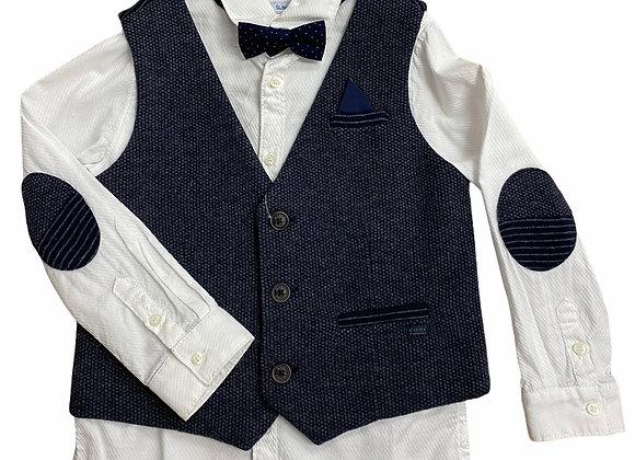 Mayoral shirt waistcoat set