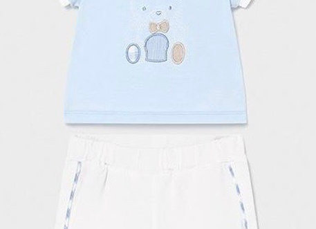 1642 Teddy Bear Shorts & T-Shirt Set