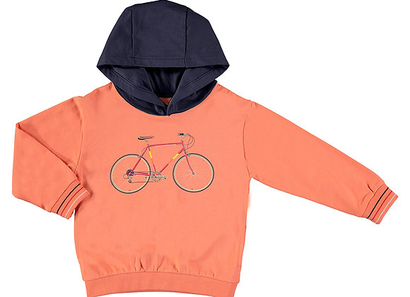 3403 Orange Bike Hoodie