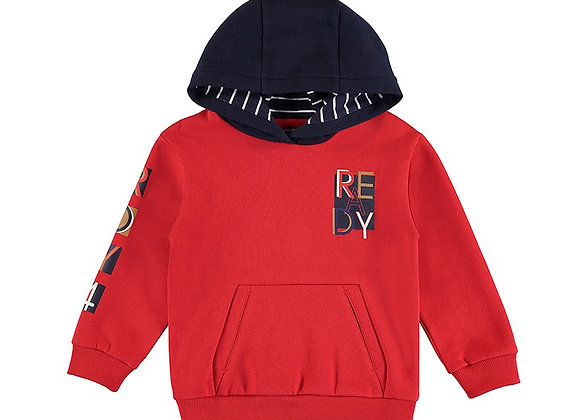 Mayoral Red Hoody 4407