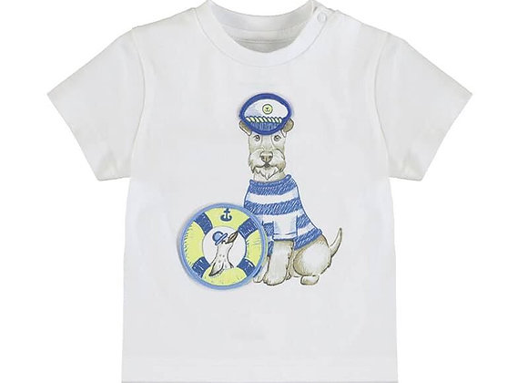 1007 Captain Dog T-Shirt