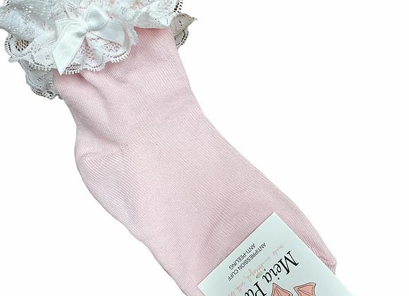 Meia Pata Pink Ankle Socks