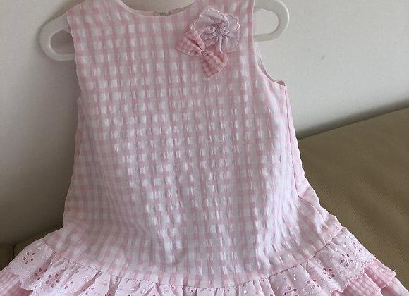 Dani Seersucker Big Sister Dress