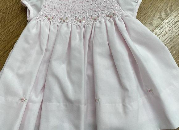 Sarah Louise Pink Zigzag dress