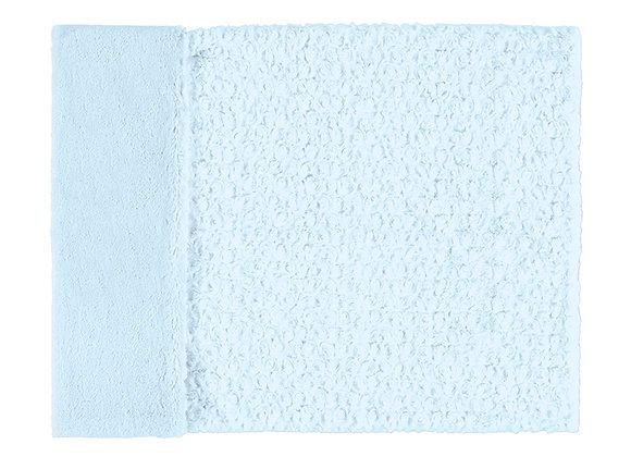 19033 Blue Fur Blanket
