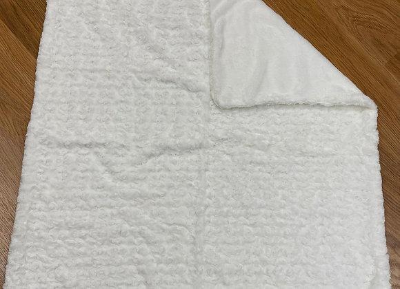 19033 Cream Fur Blanket