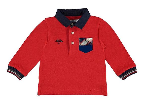 2139 Mayoral Red Poloshirt
