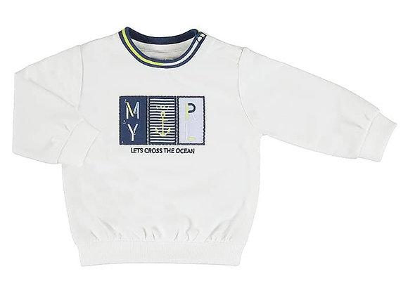 1401 White Sweatshirt
