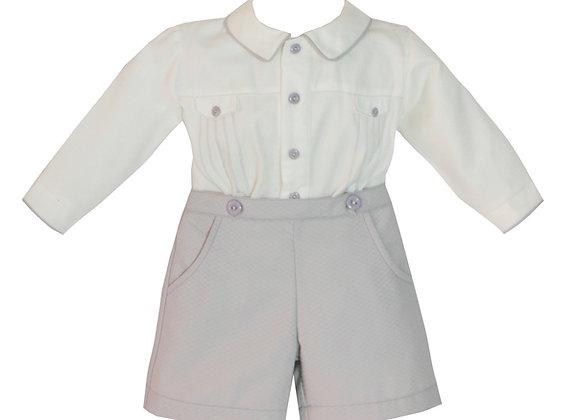 Pretty Originals Grey Short Outfit