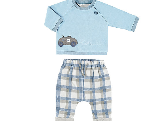 Mayoral Blue Outfit 2514