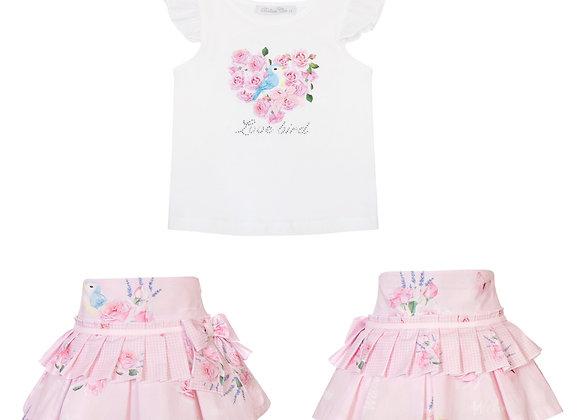 Balloon Chic Bird Skirt Set