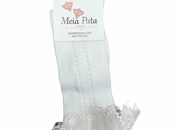 Meia Pata White Socks