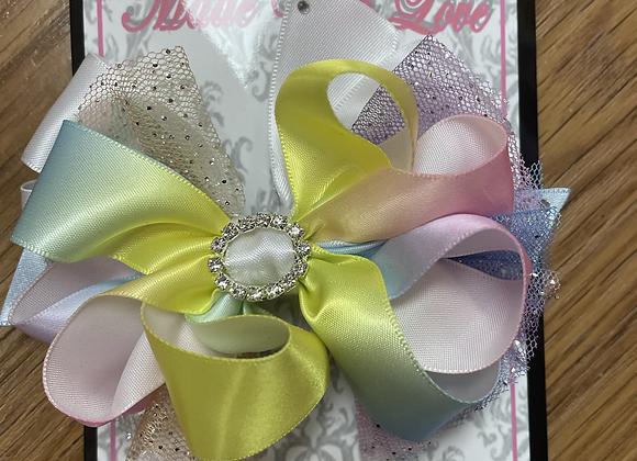 Large Multicolour Bow