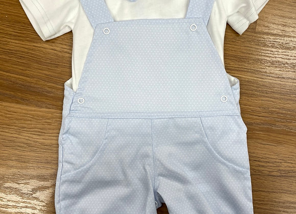 Sardon Boys Blue Dungaree 2pc